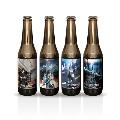 GINO THE CAFEオリジナルラベルビール 4本セット お酒