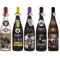 KISS「ロックレジェンズ酒シリーズ」ギフトボックス入り5本セット 第3弾+限定ボトル