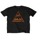 Def Leppard Classic Triangle Black T-shirt/Mサイズ