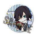 鬼滅の刃 ぎゅぎゅっと缶バッジ 第四弾/伊黒小芭内(とろろ昆布)