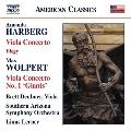"Amanda Harberg: Viola Concerto, Elegy; Max Wolpert: Viola Concerto No. 1 ""Giants"""