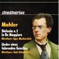 Mahler: Symphony No.1, Lider Eines Fahrenden Gesellen