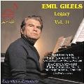 エミール・ギレリス第11集 - ベートーヴェン、ラフマニノフ: ピアノ協奏曲第3番