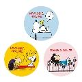スヌーピー × TOWER RECORDS 缶バッジ 3個セット Accessories