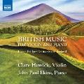British Music for Violin and Piano