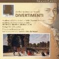 モーツァルト大全集:第3巻:ディヴェルティメント全集(全38曲):サー・ネヴィル・マリナー指揮/ASMF/ハインツ・ホリガー・ウィンド・アンサンブル/他
