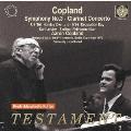 コープランド、ベルリン・フィルを振る~クラリネット協奏曲&交響曲第3番