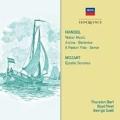 ヘンデル: 水上の音楽/モーツァルト: 教会ソナタ CD