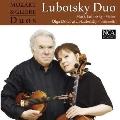 モーツァルトとグリエール - ヴァイオリンとチェロのための二重奏曲