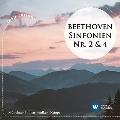 ベートーヴェン: 交響曲第2番 & 第4番