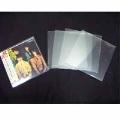 disk union 紙ジャケットCD用クリアケース小(シングル用) 5枚セット