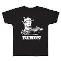 PEANUTS COMIC STYLE×ブリット・ポップ・スター T-shirt DAMON Black/Mサイズ