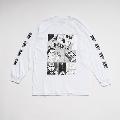 少年イン・ザ・フッド × WEARTHEMUSIC L/S T-shirt(White)XLサイズ