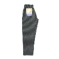 COOKMAN Chef Pants Wool mix Stripe GRAY Sサイズ