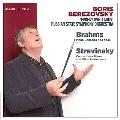 Barhms: Piano Concerto No.1; Stravinsky: Concerto for Piano and Wind Instruments