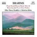 Brahms:Four Hands Piano Music Vol.14:Piano Quartet No.2