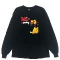 Rhymester ロングTシャツ Black Mサイズ