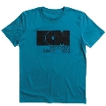 ECM Logo 1969 Tシャツ 青/L