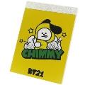 BT21 ミニメモ/CHIMMY