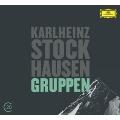 G.Kurtag: Grabstein fur Stephan Op.15, Stele Op.33; K.Stockhausen: Gruppen No.6