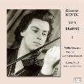 ブラームス: ヴァイオリン協奏曲 Op.77, ヴァイオリン・ソナタ第3番<完全限定盤>