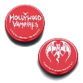 Hollywood Vampires Button Badges RED