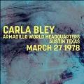 Armadillo World Headquarters Austin Texas March 27 1978