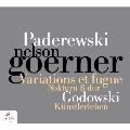 パデレフスキ: 変奏曲とフーガ Op.23
