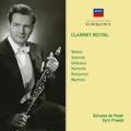 Clarinet Recital - Weber, Schmitt, Debussy, etc