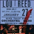 Lou Reed Live at Alice Tully Hall January 27, 1973 - 2nd Show<BLACK FRIDAY対象商品/Burgundy Vinyl>