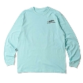 Caprice × WTM Girl L/S T-shirt(Light Blue) XLサイズ