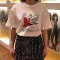 WTM クラシカルTシャツ Mozart(イラスト) ホワイト Mサイズ Apparel