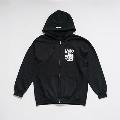 少年イン・ザ・フッド × WEARTHEMUSIC Zip Hoodie (Black)Lサイズ