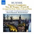 Hummel: Mozart's Symphonies No.38-No.40