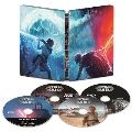 スター・ウォーズ/スカイウォーカーの夜明け 4K UHD MovieNEX スチールブック [4K Ultra HD Blu-ray Disc+3D Blu-ray Disc+2Blu-ray Disc]<数量限定版>