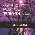 ハイドン: 弦楽四重奏曲「ひばり」、ベートーヴェン: 弦楽四重奏曲「ラズモフスキー第3番」、ヴォルフ: イタリア風セレナード