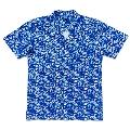 WTM アロハシャツ ネイビー Lサイズ