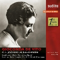 Beethoven: Violin Concerto Op.61; Brahms: Violin Sonata No.2; Vitali: Chaconne