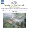 Bloch: America (An Epic Rhapsody), Suite Hebraique