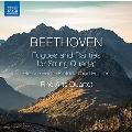 ベートーヴェン: 弦楽四重奏のためのフーガと希少作品集
