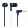 audio-technica インナーイヤーヘッドホン ATH-CK350M ブルー