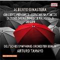 A.Ginastera: Concerto per Corde, Estudios Sinfonicos, etc