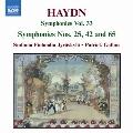 Haydn: Symphonies No.25, 42, 65 / Patrick Gallois(cond), Sinfonia Finlandia