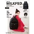 mini特別編集 MILKFED. SPECIAL BOOK Big Pocket Backpack #BLACK