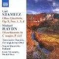 M.ハイドン&シュターミッツ:ディヴェルティメント&オーボエ四重奏曲