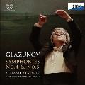 グラズノフ:交響曲 第4番&第5番