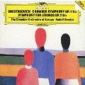 ショスタコーヴィチ(バルシャイ編):室内交響曲作品110a 弦楽のための交響曲