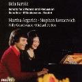 バルトーク:2台のピアノと打楽器のためのソナタ