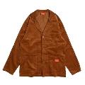 COOKMAN Lab.Jacket Corduroy BROWN BROWN Mサイズ