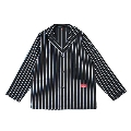 COOKMAN Lab.Jacket Stripe BLACK M